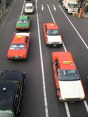 More Taxis, Tokyo (datsuncog) Tags: japan tokyo nissan taxis harajuku toyota