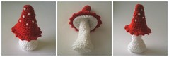 Rd svamp. :o) (TM - the crocheteer!) Tags: red white mushroom botanical crochet craft tm fungus botany svamp amanita flyagaric vitt rtt croche vit hkeln virka virkkaus frenchknots virkat hekling towemy uncinetto frenchknot virkad sculpturalcrochet crochetsculpture crochetnature tmcrocheteer