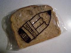 Pencil (D Laferriere) Tags: sandwich art drawing laferriere lafney attleboro sharpie drawrs sandwichbagart sandwichbagdad