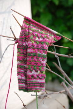 Mad Color Weave Sock