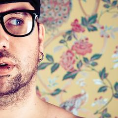 (Benoit.P) Tags: blue boy portrait canada man eye art glass montral benoit mtl troisrivieres mauricie tr paille troisrivires percing percings artlibre benoitp benoitpaille