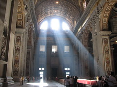 I am the Light (biancapreusker) Tags: light italy sun vatican stpeters rome church italia cathedral sunbeam bigmomma canonpowershots2 stpietro anawesomeshot pfogold beautifulworldchallenges thechallengefactory damniwishidtakenthat