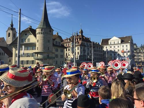 Fasnacht Fasching Carnival Luzern Lucerne Switzerland