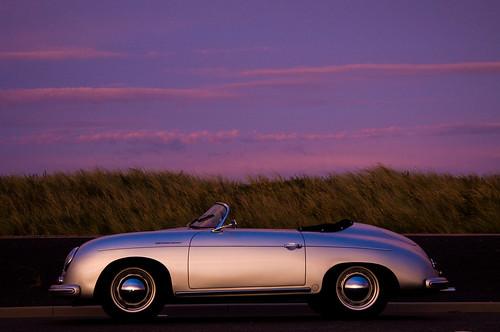 Porsche 356 Sunset