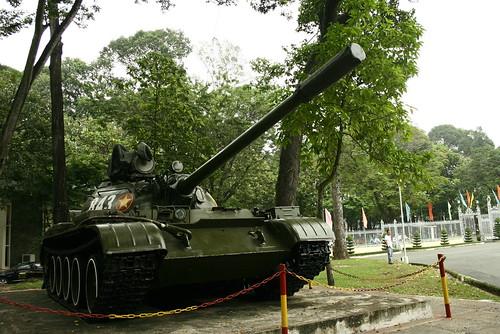 USSR-made T54 tank