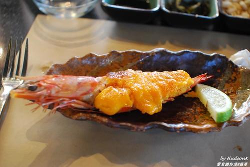 海膽飛魚卵焗蝦