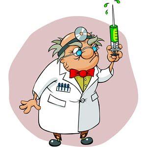 Médico Aguja