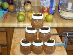 Pear-apple jam