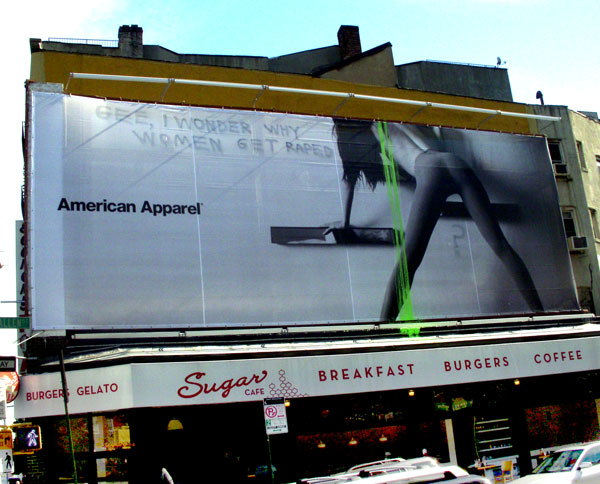 American Apparel Raped
