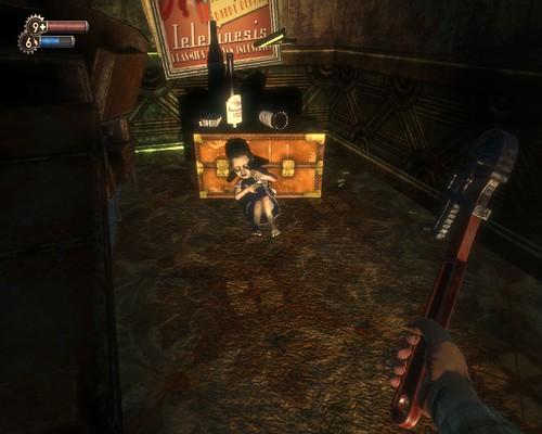 BioShock人物的動作也非常逼真