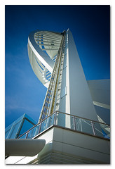 Spinnaker Tower (alanlake) Tags: nikond70s portsmouth spinnakertower sigma1020mmf456