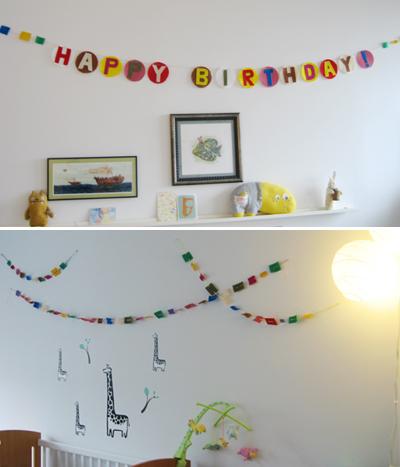 Lara's Birthday - banners