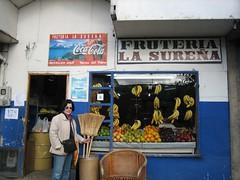 frutera with mom (bearshapedsphere) Tags: chile patagonia fruit south puertonatales frutera