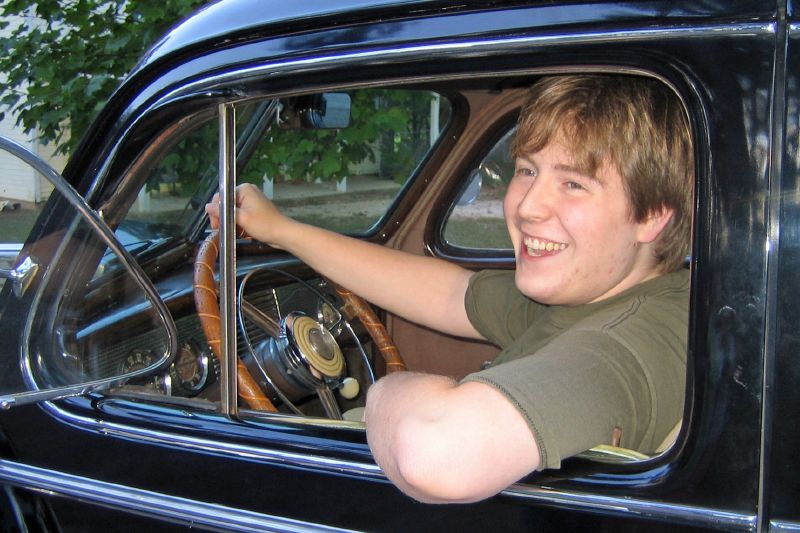 Gavin Drives Buick