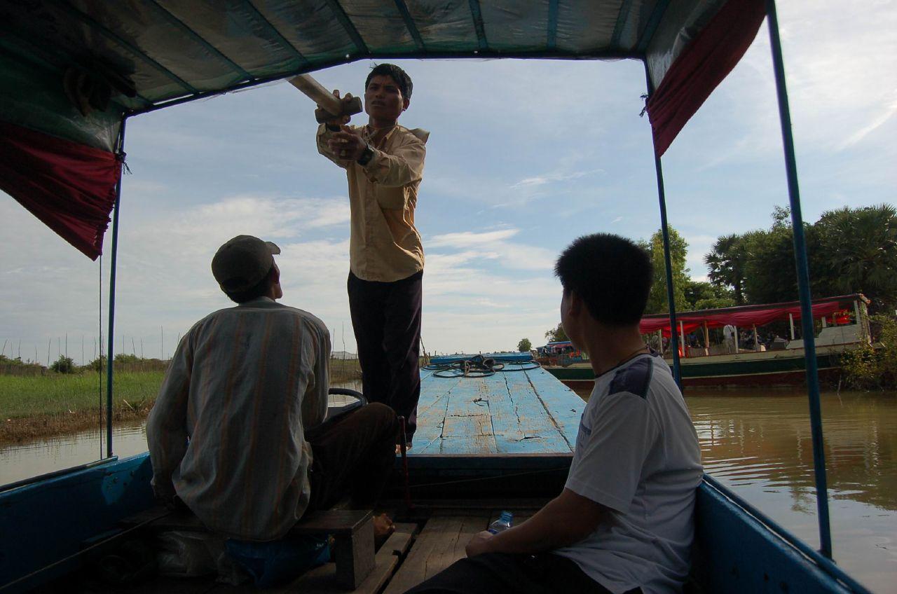 我們的主要行程之一 Kompong Phhluk