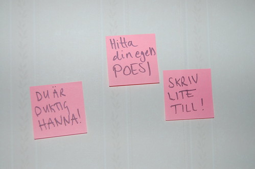 My post it-notes for Nano