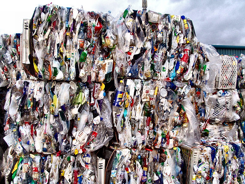 Recycling plastics courtesy allybeag