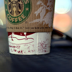 They Drank It, Not Me! (Kim Smith-Miller) Tags: thanksgiving vacation holiday cup coffee bokeh beverage nikond50 starbucks nikkor50mmf18 redding 2007 ifmemoryservescorrectlyitwasagrandenonfatsugarfreevanillalatte