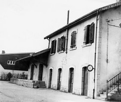 Une des dernières vues de la gare d'Orgelet