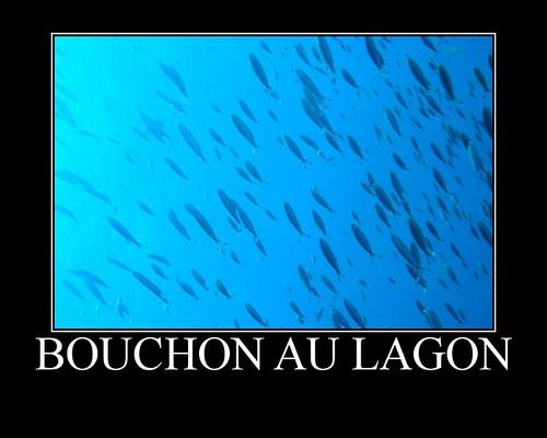 Bouchon au lagon
