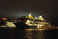 Birka Paradise Ship, Stockholm - Sweden (Mas Tok) Tags: longexposure winter light cold water night dark sweden stockholm