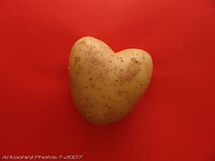 (Al Kooheji Photos) Tags: red love al heart photos potato   kooheji    alkooheji