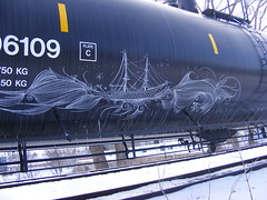Deuce ship (AboveTheNorm) Tags: 2 minnesota train graffiti metro cities minneapolis twin 7 area 27 deuce deuce7