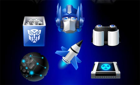 Transformers for Iconpackager - Vista icons