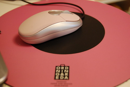 Pink mouse!