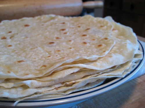 I made tortillas.