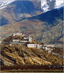 Gyantse - Pachu Monastery (Katarina 2353) Tags: tibet asia china monastery mountain buildings travel panorama religion sacred himalayas national church tibetanlandscape film katarina2353 katarinastefanovic photography flickr image nikon pejza paisaje paysage priroda