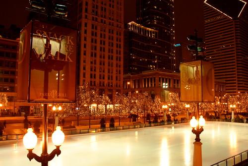 McCormick Tribune Plaza and Ice Rink