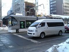 Sapporo trams SWIMO-2