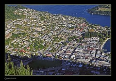 Queenstown, New Zealand (l plater) Tags: newzealand cityscape southisland queenstown bobspeak blueribbonwinner skylinegondola lplater
