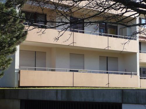 Balkon der neuen Wohnung