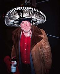 Irishman Wearing Sombrero (moedonno) Tags: irish oakland bill homeless mexican rizzo