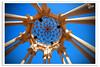 Under the Dome (Hussain Shah.) Tags: blue sky art d50 nikon under arc sigma dome kuwait 1020mm islamic kuwaiti salmiya shah hussain polorizer muwali