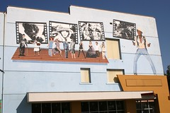 varsity theater mural
