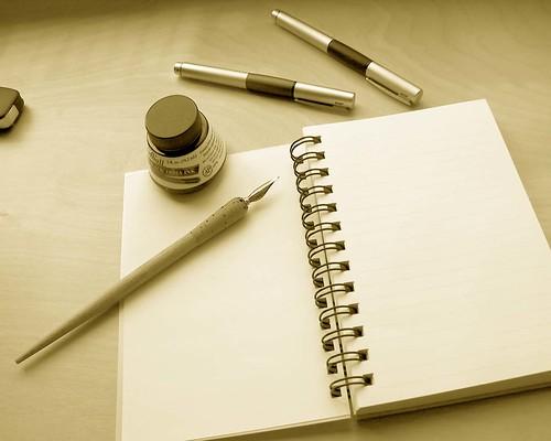 escribiendo en sueños