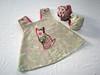 Embellished Cross-back Swing Top & Doll Diaper Set