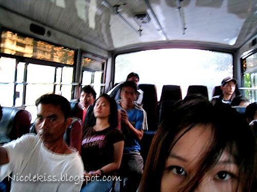 nicole on bus
