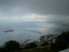 Oil tankers (Heavenbound) Tags: city rock view gib country oil gibraltar tanker tankers