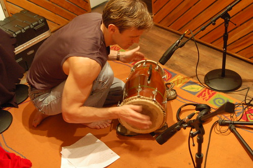 Mridangam, Drum from South India played by Canadian Singer