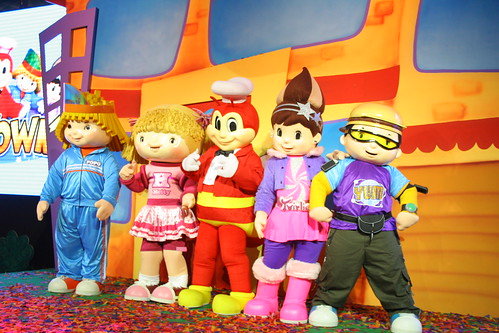 Popo, Hetty, Jollibee, Twirlie and Yum