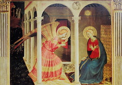 The Annunciation, Fra Angelico, c. 1430, Museo Diocesano, Cortona, Italy (Ray .) Tags: italy tuscany renaissance cortona pmc renaissanceart blueribbonwinner fraangelico italianrenaissance fineartphotos mywinners museodiocesano travelerphotos excellentphotographerawards c1430