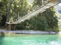 El Bolson - Trek Cajon del Azul - pont
