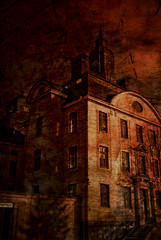 Prison in red (gothicburg) Tags: photoshop gteborg blood rust sweden gothenburg gothic prison horror sverige lightroom lockedup artisticexpression hrlanda