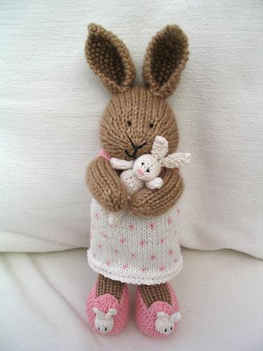bunny cuddles by littlecottonrabbits.