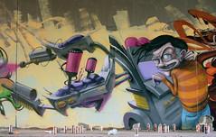mr.graffitimakermachine-operator (mrzero) Tags: streetart detail art lines wall effects graffiti 3d mural paint hungary character fat letters budapest meeting spray heat styles colored graff cfs mrzero