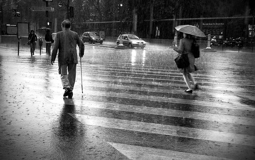 When the rain comes...